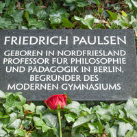 Interner Link: Friedrich Paulsens Grab in Berlin gerettet