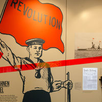 Interner Link: Wanderausstellung »Revolution 1918« in Husum